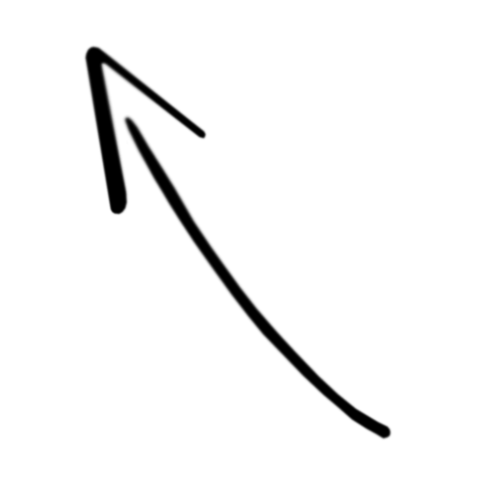 up left arrow